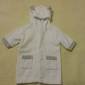 Pottery barn kids robe/cover-up size 0-9M